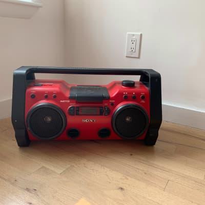 Sony  ZS-H10CP Heavy Duty CD Radio Red/Black