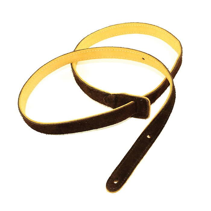 Henry Heller Capri Suede Mandolin Strap Chocolate HMANS-CHC