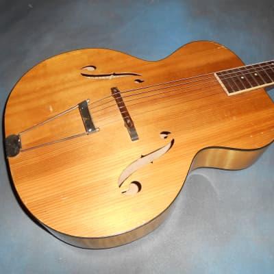 Slingerland 1940's Songster Archtop Acoustic Guitar  Blond for sale