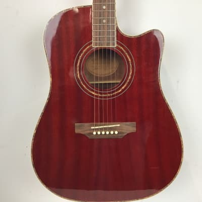 Miller Dreadnought Acoustic Red for sale