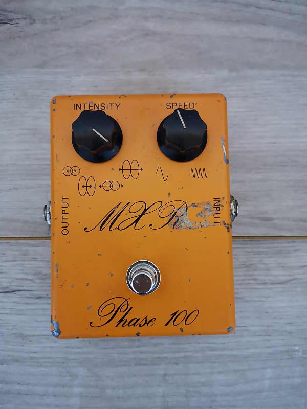 vintage mxr phase 100 script logo guitar effects pedal reverb. Black Bedroom Furniture Sets. Home Design Ideas