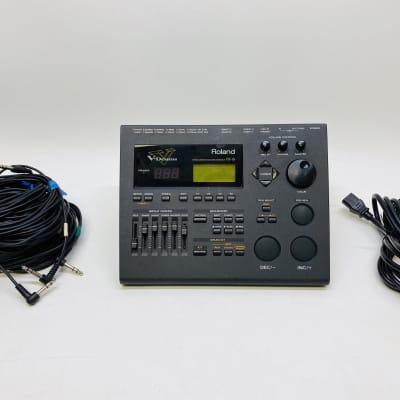 Roland TD-10 V-Drums Module Brain Cables Power TD10