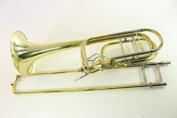 Bach Stradivarius Model 50T3 Bass Trombone DUAL THAYER MINT