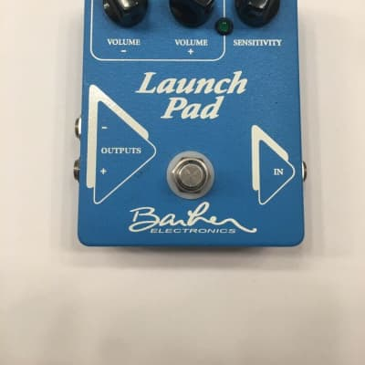 Barber Electronics Launch Pad Stereo Clean Booster Rare Guitar Effect Pedal for sale
