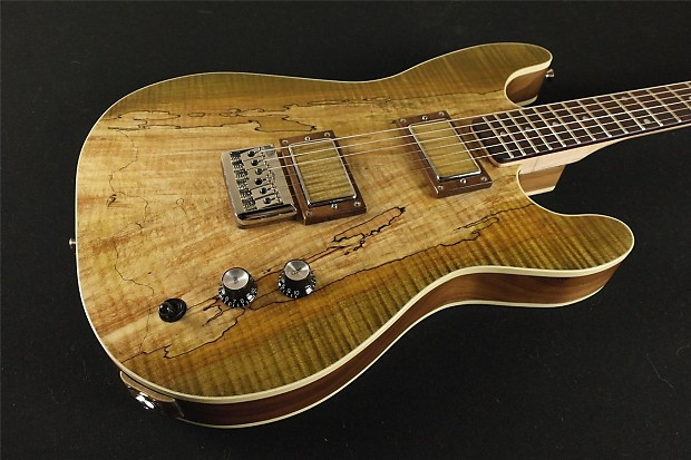 rogue custom guitars sc ng1 custom shop spalted flame maple reverb. Black Bedroom Furniture Sets. Home Design Ideas