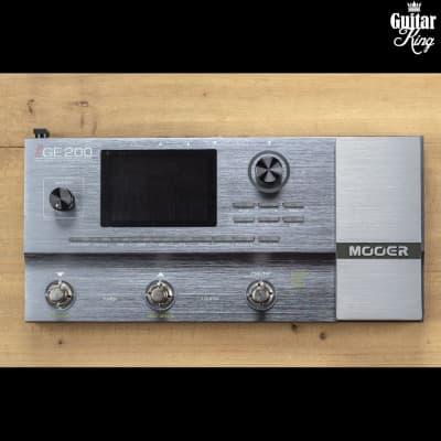 Mooer GE200 multi effect/modeling amp/IR cabinet loader/Rythm box for sale