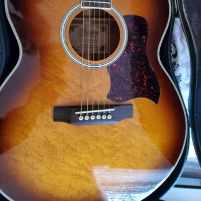 Used Copley Right Handed CA-66 BRB Jumbo Acoustic Guitar with Case for sale
