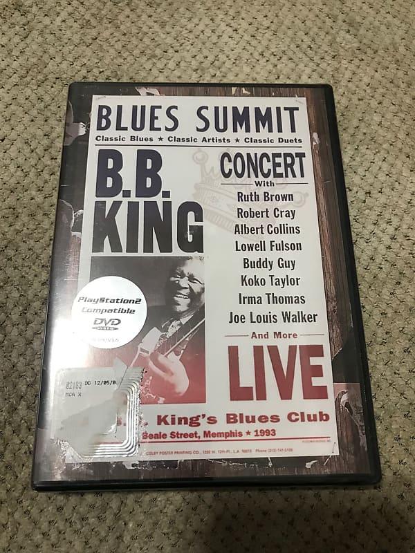 b b king blues summit concert live dvd pedals r us reverb. Black Bedroom Furniture Sets. Home Design Ideas