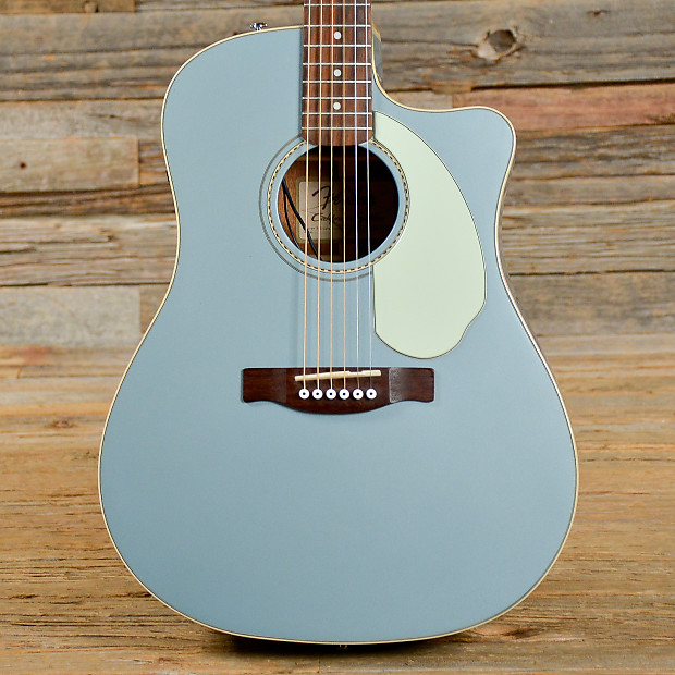 Fender Sonoran California Series Acoustic Electric Baby Blue USED S345