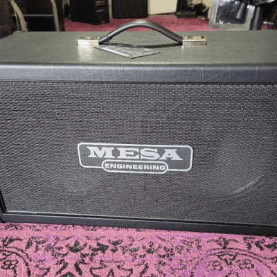 Mesa Boogie 2x12 Recto Compact Cabinet (2021 Black) w/Casters for sale