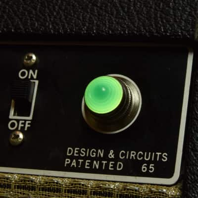 Invisible Sound Guitar amplifier Jewel Lamp Indicator amp jewel.  Model 009.  For pilot light