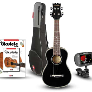 Mitchell MU75BK Concert Ukulele Bundle for sale