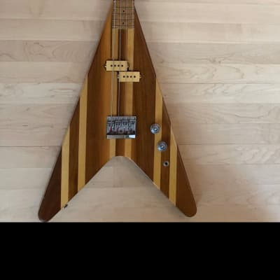 O'Hagan Flying V Bass 80's Maple for sale