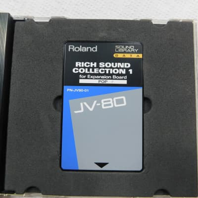 Roland PN-JV80-01 ROM card for JV-80, JV-90, JV-880, JV-1000, JV-1080, JV-2080 with expansion POP