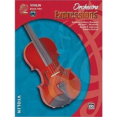 Orchestra Expressions: Violin - Book 2 (w/ CD)
