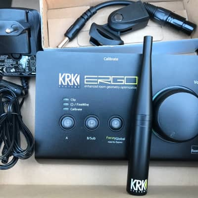 KRK Ergo -  Room Correction System. In excellent condition. Used very rarely.