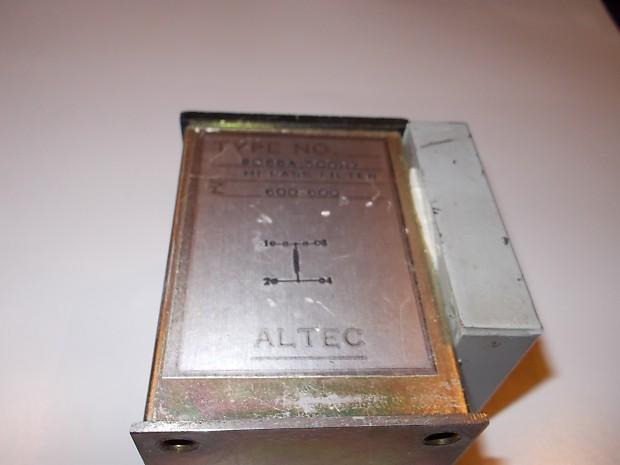Altec 9066A 500hz Hi Pass Filter 1970   BrooklynUsedProAudio