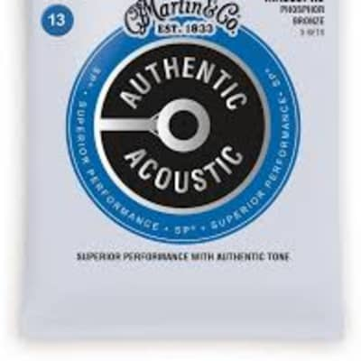Martin MA550PK3 Authentic Acoustic Phosphor Bronze, Medium 3pk, .012