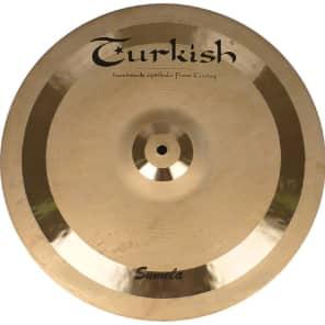 "Turkish Cymbals 18"" Custom Series Sumela Crash SM-C18"