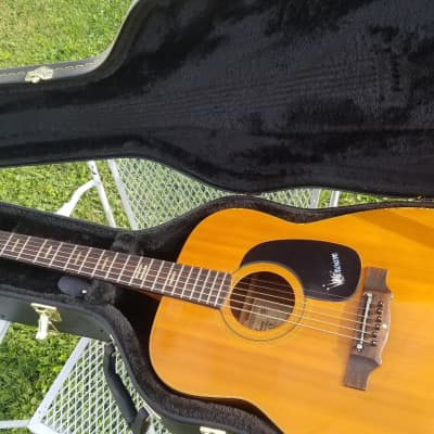 Crown Vintage  Acoustic guitar  Circa Early 70,s  Natural for sale