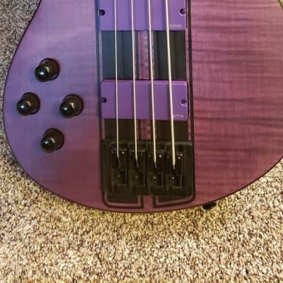Left Handed Schecter C4 GT DIAMOND SERIES  2020 Satin Purple