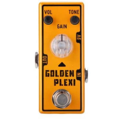 Tone City Golden Plexi Distortion TC-T7 Marshall Style EffEct Pedal Ships Free