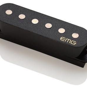 EMG SAV Alnico 5 Single Coil Active Strat Guitar Pickup, Black