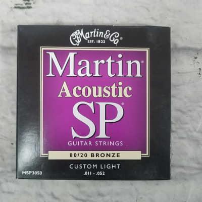 Martin & Co Acoustic Guitar Strings Custom Light