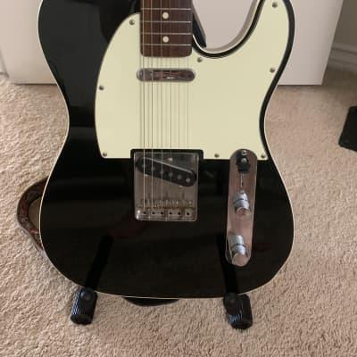 Fender Telecaster Custom '62 Vintage Reissue CIJ 2000s - Black, Double Bound for sale