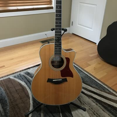 Taylor 416ce-R Indian Rosewood Grand Symphony with Electronics 2016 Natural Spruce Top