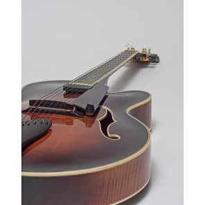 Benedetto Guitars Manhattan 1991 Antique Brown Sunburst for sale