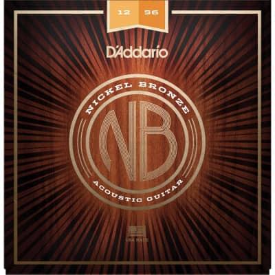 D´Addario Nickel Bronze Acoustic Strings NB1256 12-56