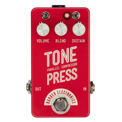 Barber Electronics Tone Press Red for sale
