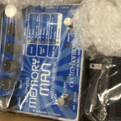 EHX Electro-Harmonix Stereo Memory Man with Hazarai Delay / Looper Pedal for sale