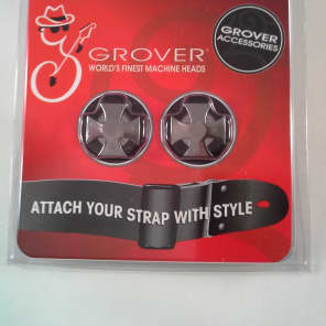 Grover 640C Iron Cross Strap Button