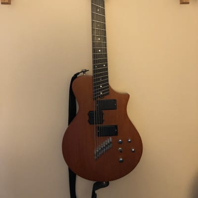 Wes Lambe Guitars 8S (8 string solidbody) 2007 Natural Mahogany for sale