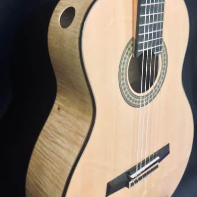JMG Elevated Lattice Classical Guitar, Spruce/Maple for sale