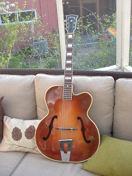 Vega E-300 1953 Almond Sunburst | Artisan Instruments