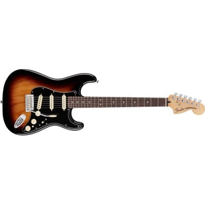 Fender Deluxe Stratocaster 2 Colour Sunburst, Pau Ferro for sale