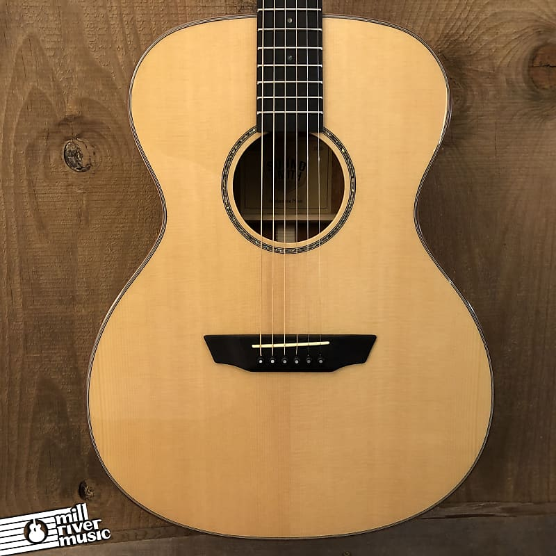 Sound Smith SMOM The Poet OM Acoustic Guitar Natural w/ HSC