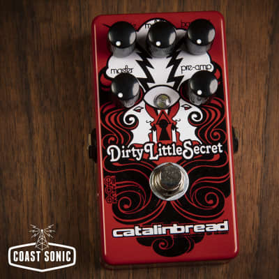 Catalinbread Dirty Little Secret Overdrive *Limited Edition Red*