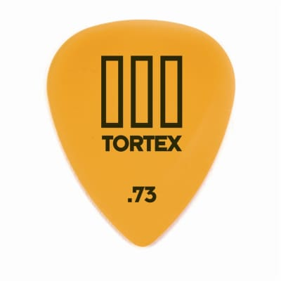 Dunlop 462R73 Tortex III .73mm Guitar Picks (72-Pack)