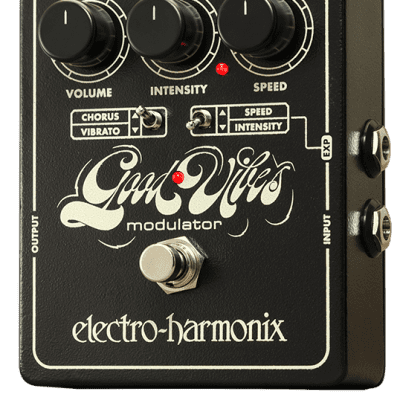 New Electro-Harmonix EHX Good Vibes Analog Modulator Guitar Effect Pedal!