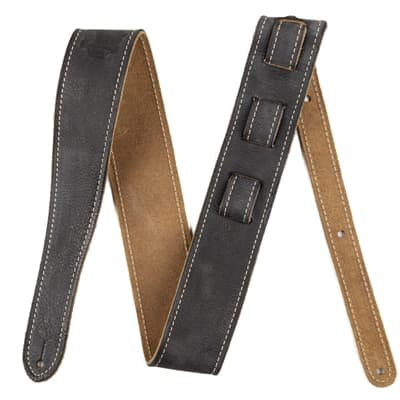 Fender Fender® Road Worn Strap -Black for sale