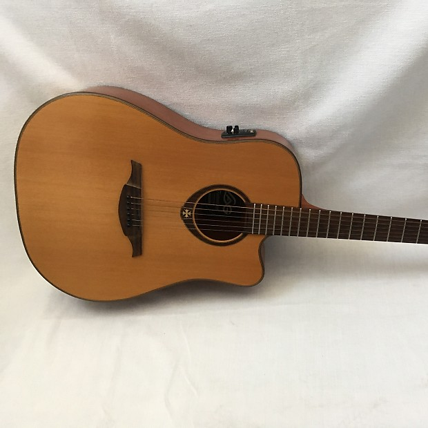 lag t200dce stage acoustic electric midtown guitar company reverb. Black Bedroom Furniture Sets. Home Design Ideas