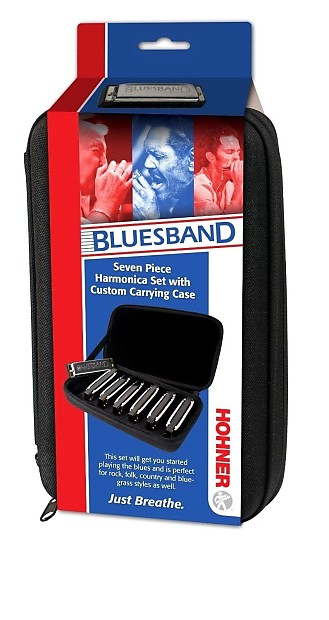 hohner bluesband 7 piece diatonic harmonica blues band harp reverb. Black Bedroom Furniture Sets. Home Design Ideas