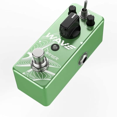 Wave Delay Pure Analog Guitar Effect Pedal Two Models True Bypass
