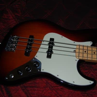 Open Box Fender American Professional Jazz Bass 3TSB Authorized Dealer Warranty OHSC