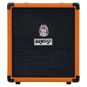 Orange Amps Crush Bass 25 Combo Amplifier Solid State Active 3-Band EQ 25W 1x8""