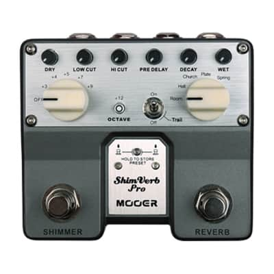 Mooer ShimVerb Pro Stereo Reverb Pedal